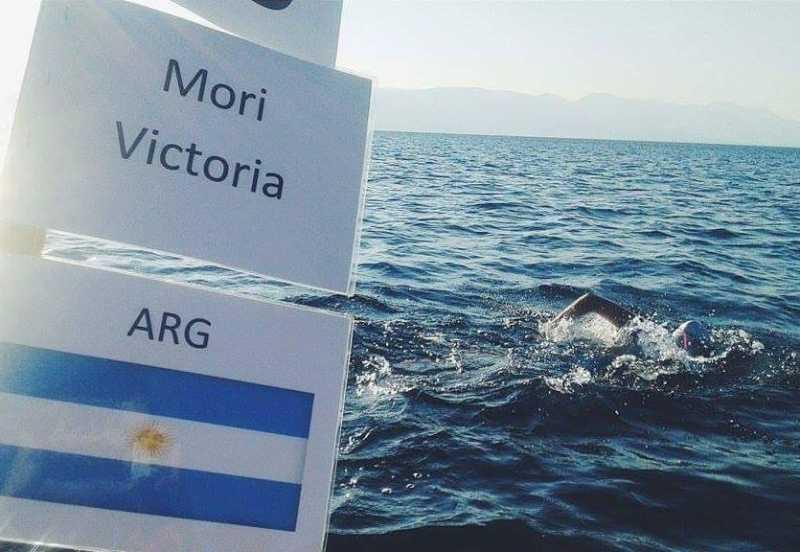 Nadadora sanlorencina salió segunda en una competencia en Rusia