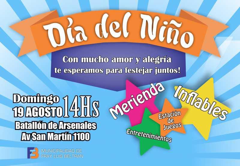 Se viene el Día del Niño en Fray Luis Beltrán