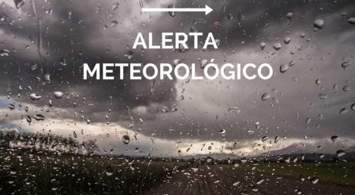 Se renovó el alerta meteorológico por lluvias y tormentas intensas