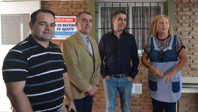 Fray Luis Beltrán: Entrega de aportes a instituciones