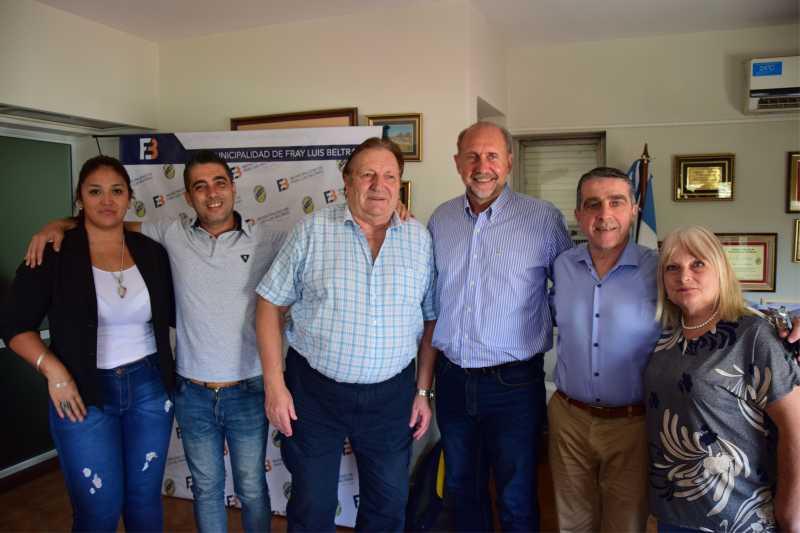 Perotti visitó el Cordón Industrial