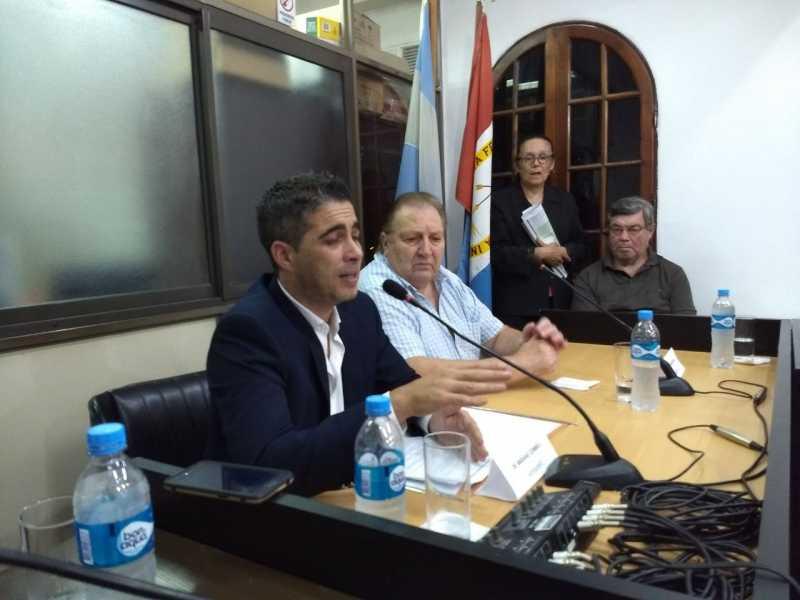 El intendente municipal dejo inaugurado el período de sesiones ordinarias del HCM