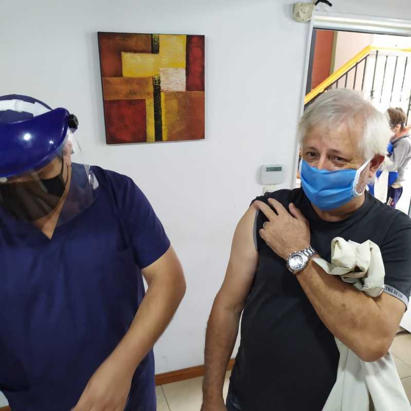 Continúa la campaña de vacunación antigripal del Centro de Patrones