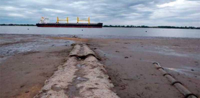 Grandes pérdidas por la bajante del Paraná