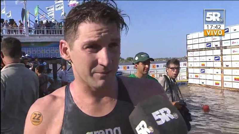 Guillermo Bértola se adjudicó la 44° Maratón Acuática Internacional Santa Fe-Coronda