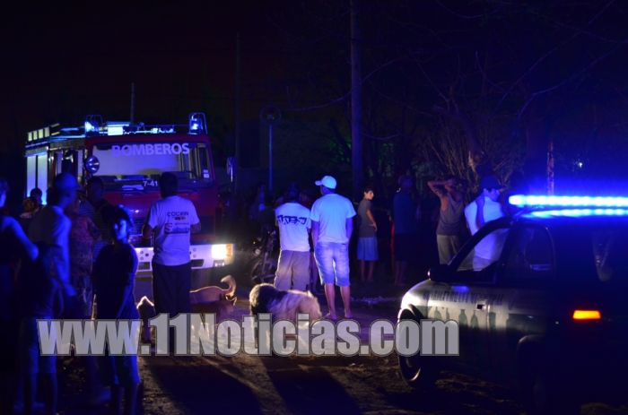 Beltrán: Murió un hombre calcinado