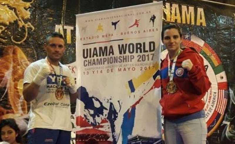Capitán Bermúdez tiene nuevamente dos campeones mundiales