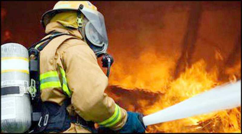 Incendio en una vivienda de Fray Luis Beltrán