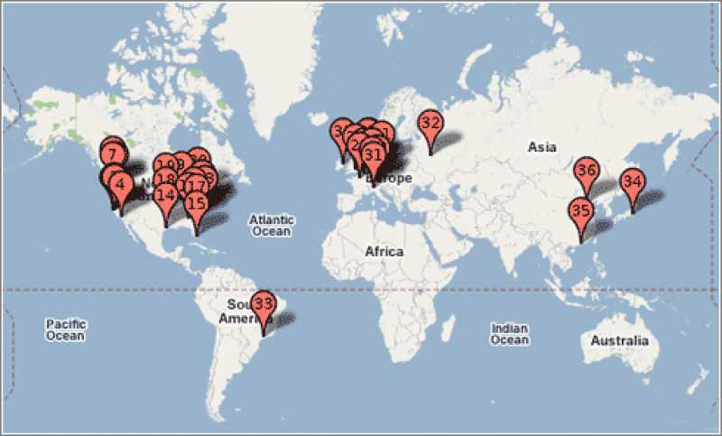 El mapa del 8M: estas serán las principales actividades del Día Internacional de la Mujer en el mundo