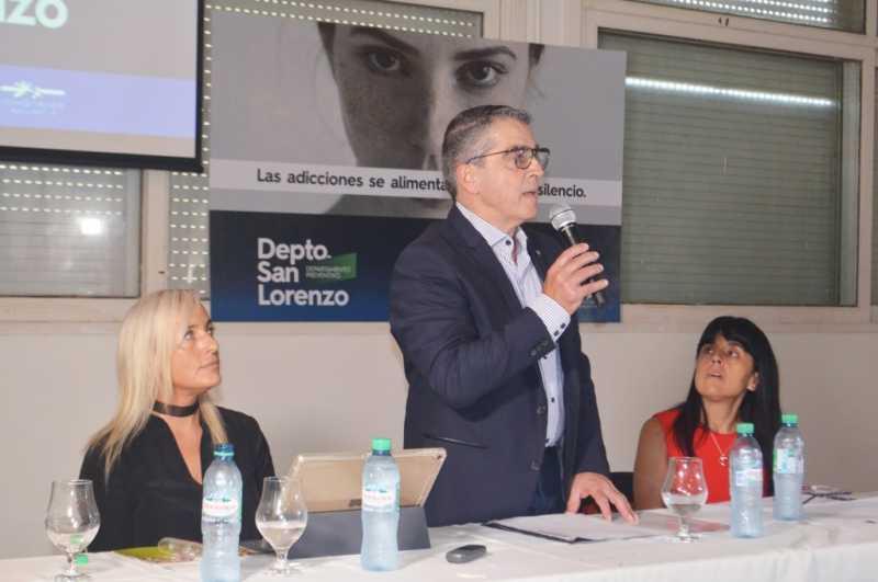 Se presentó el Espacio Preventivo del Senado San Lorenzo