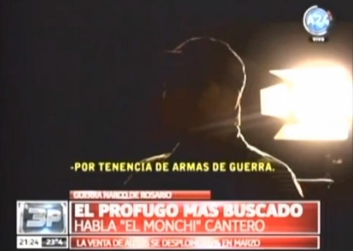 Habló Monchi Cantero, el prófugo más buscado y supuesto líder de Los Monos