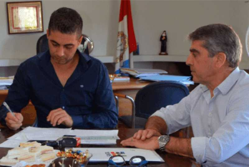 Beltrán recibió $1.161.000 para pavimentar calles