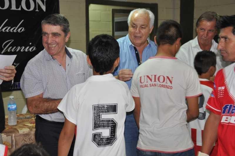 Club Colón de San Lorenzo: Presentación de nuevo sistema de seguridad y $40.000 para entidades deportivas