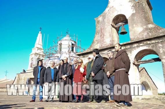 Ramos visitó el Convento San Carlos y anunció una segunda etapa de obras