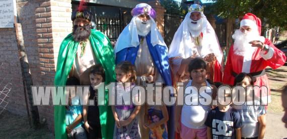 Los Reyes Magos recorrieron Beltrán
