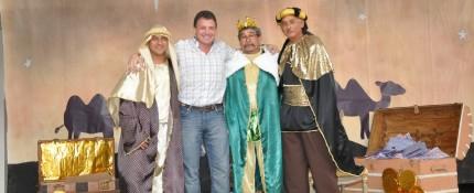 Los reyes magos en San Lorenzo