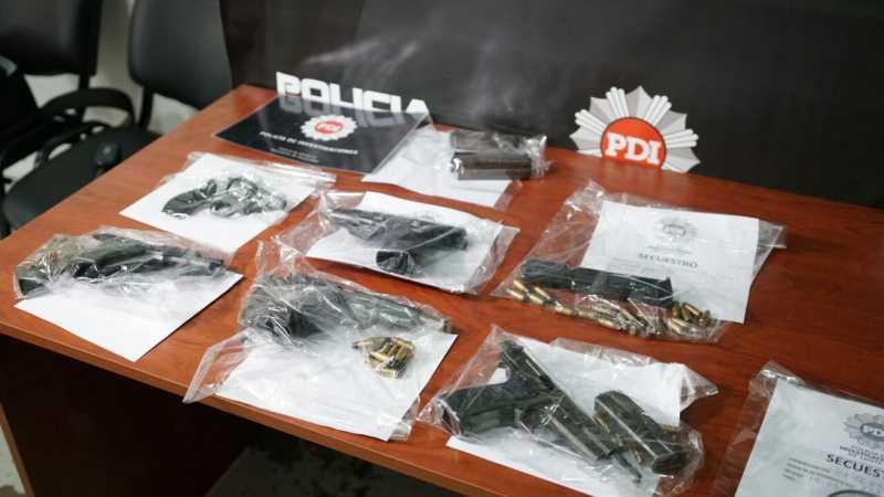 PDI secuestró armas en un allanamiento en el Sudoeste de Rosario