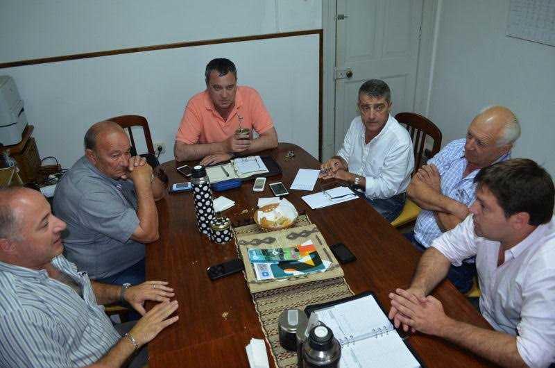 Traferri encabezó una nueva reunión de coordinación departamental
