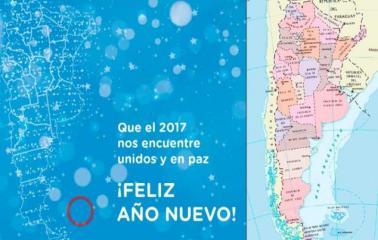 El Gobierno publicó un mapa de la Argentina sin las Malvinas