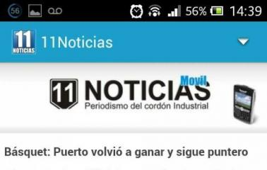 Comenzá a seguir 11noticias.com desde tu celular
