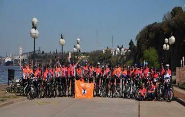 Agrupación Sanlorencina cruzará la Cordillera de los Andes en Bicicleta