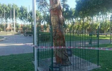San Lorenzo: Una niña recibió una Fuerte descarga eléctrica en la Plaza San Martín