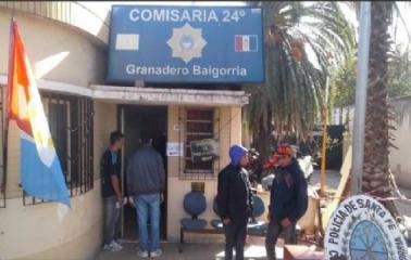 Granadero Baigorria: Fue detenido dos veces el mismo día