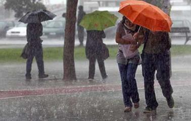 Alerta meteorológico por abundantes precipitaciones
