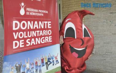 Realizarán una Jornada de Donación Voluntaria de Sangre en San Lorenzo