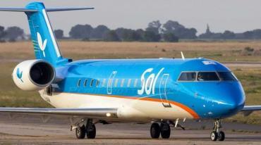 La aerolínea rosarina Sol oficializará este miércoles el cierre de la empresa