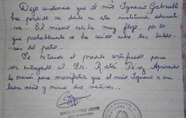 La carta de la vicedirectora de una escuela al Ratón Pérez que conmueve al Pais