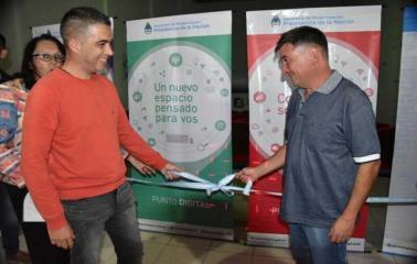 Inauguran Punto Digital y Sala de Cine-Teatro en el Bicentenario de Beltrán
