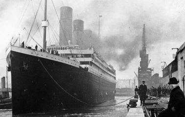 Construyen en China una réplica del Titanic en tamaño real