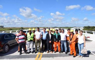 Quedó inaugurado el nuevo Puente de Carcarañá