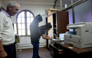 Roban documentación del Concejo de Fray Luis Beltrán