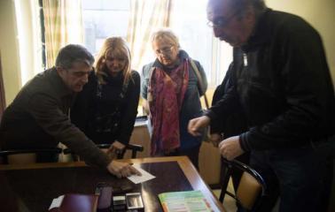 San Lorenzo: Traferri entregó aporte al Hospital y anunció que llegará una nueva ambulancia