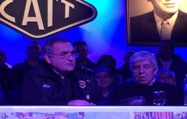 Schmid fue reelecto al frente de la Confederación Argentina de Trabajadores del Transporte