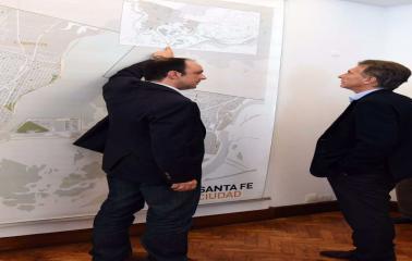 """Macri: """"Santa Fe va a volver a ser el gran polo exportador de la Argentina"""""""