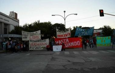 Marcha en Bermúdez por el nieto de la abuela asesinada en la ciudad