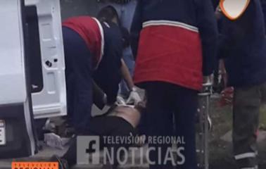 PGSM: Lo apuñalaron mientras esperaba el colectivo