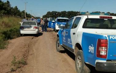 Persecusión y un detenido tras una entradera en San Lorenzo