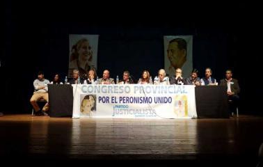 Traferri presidió el Congreso Provincial del Partido Justicialista Distrito Santa Fe