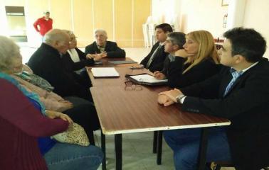 Se entregó un aporte al Centro de Jubilados Aceiteros de San Lorenzo