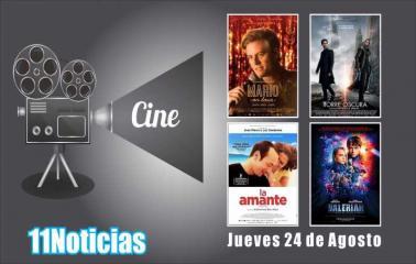 Estrenos de Cine para este Jueves 24 de Agosto