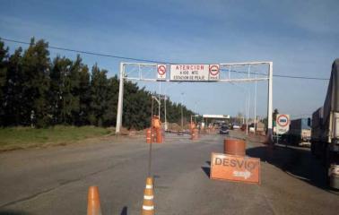 Se iniciaron las obras en el acceso norte de autopista en San Lorenzo