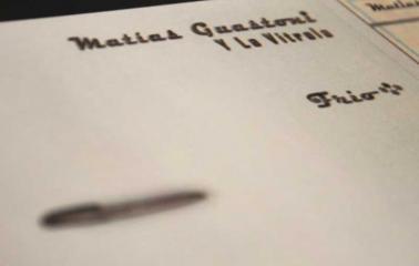 Matias Guastoni presenta su nuevo disco