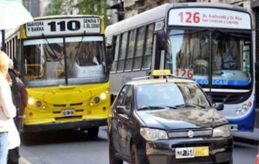 Desde el lunes, Boleto y taxis más caros en Rosario