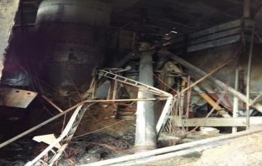 Incendio en empresa avícola de San Lorenzo