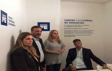 Fray Luis Beltrán: el Centro Territorial de Denuncias ya funciona en la sede del CER