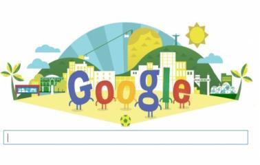 Google ya celebra el mundial con su nuevo doodle